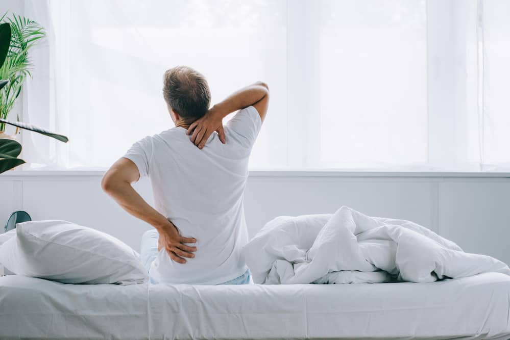 Man woke up with back pain proves that the right mattress can alleviate pain