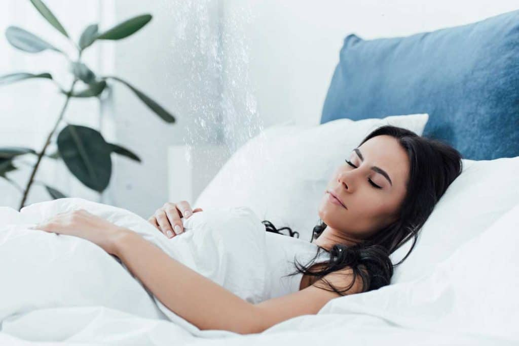 how water can affect sleep