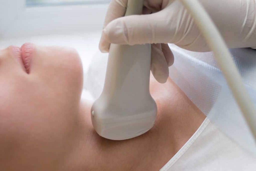 neck ultrasound hypothyroidism