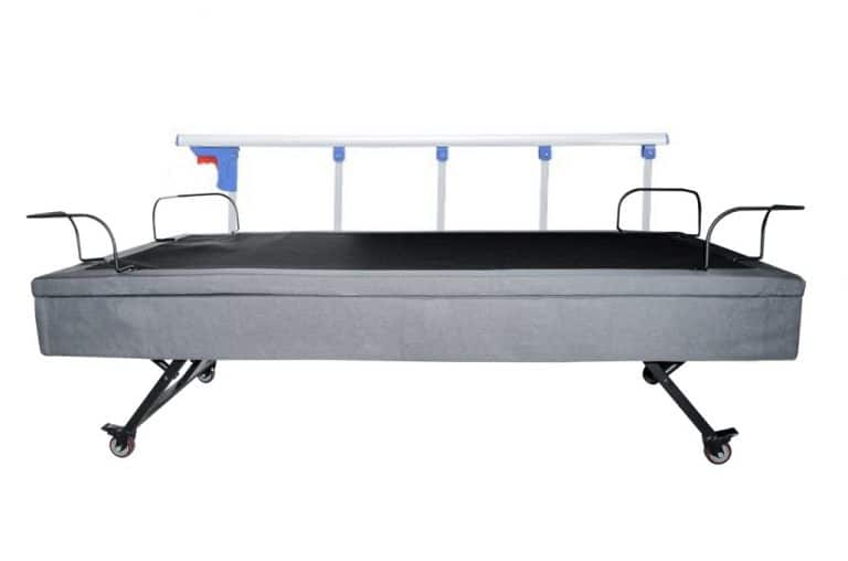 full rail safety adjustable bed