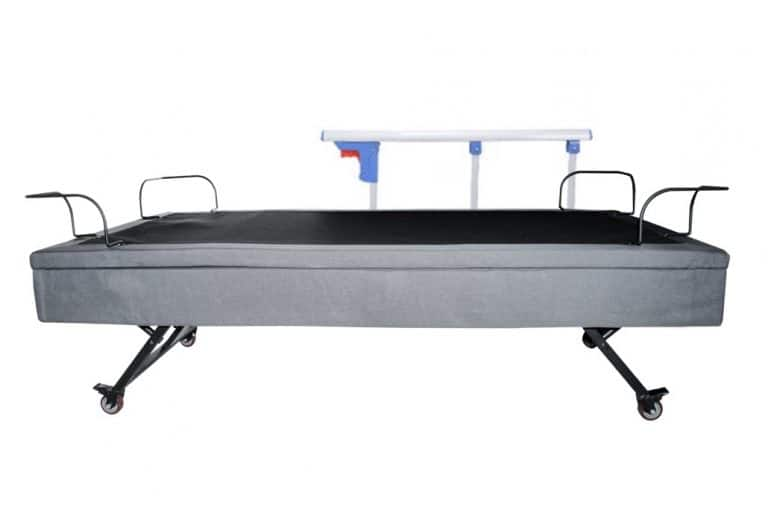 half rail safety adjustable beds