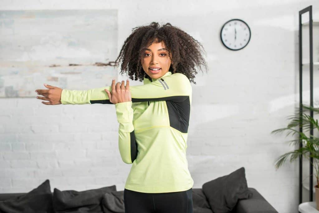 woman exercise for poor circulation